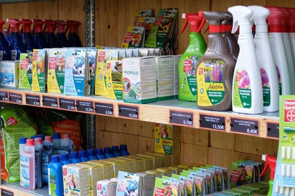 vendita prodotti fitosanitari per la cura delle vostre piante