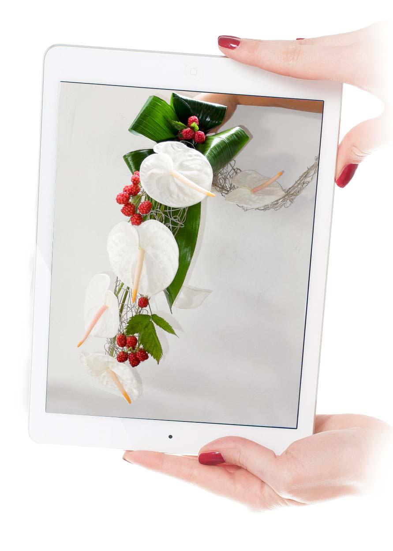 Bouquet sposa con fiori e frutta