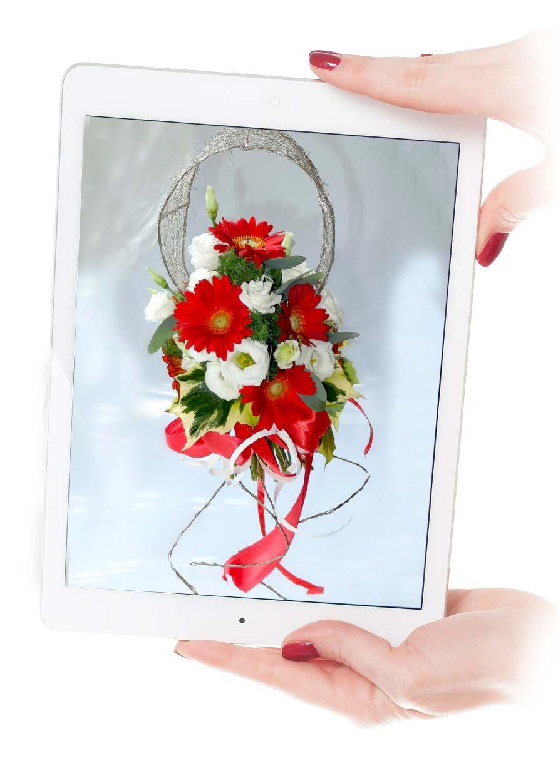 bouquet sposa a braccio