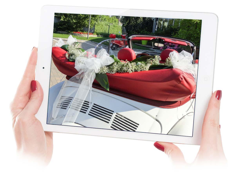 Addobbo Matrimoniale auto - cabriolet