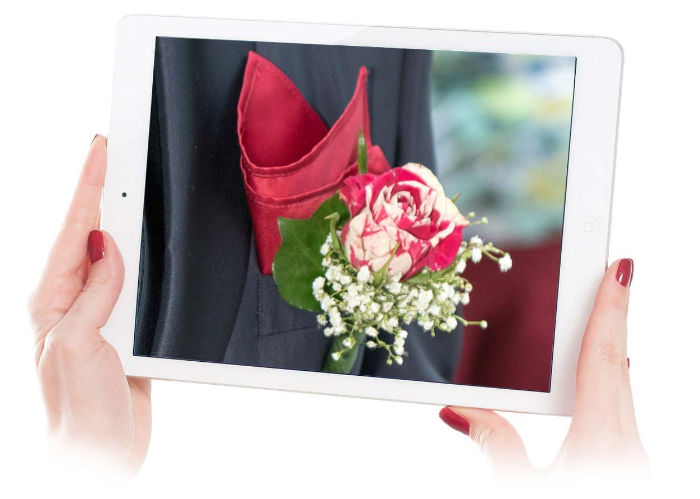 Fiore all' occhiello per lo sposo