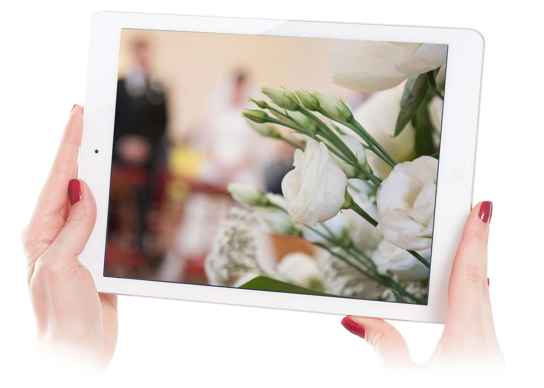 allestimento floreale matrimonio elegante